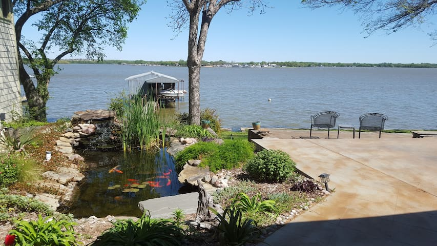 Eagle Mt. Lakefront Retreat (Blue) - Azle - Maison