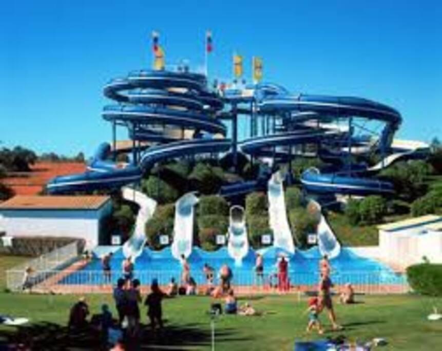 Aqualand à proximité. 1km