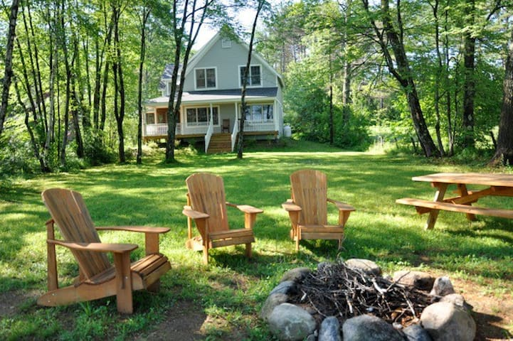 Waterfront Songo Pond Home - Bethel