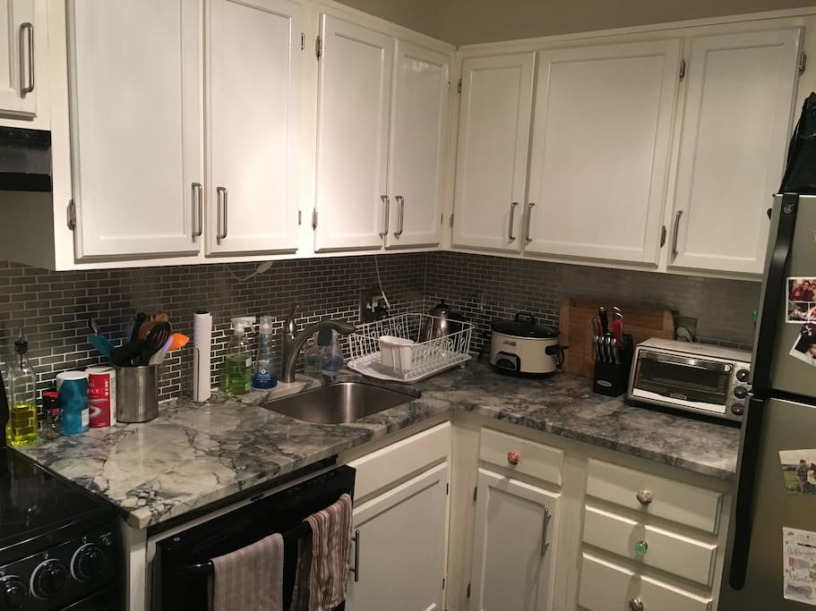 Kitchen with all the appliances you need and plenty of room to cook