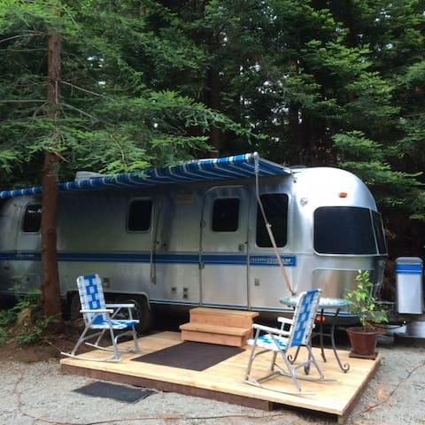 Airstream Trailer in the Redwoods - Crescent City