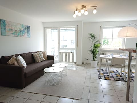 Sunny apartment in Karlsruhe / balcony / 1-6 pers.