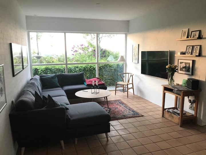 Moderne villa med plads til den store familie