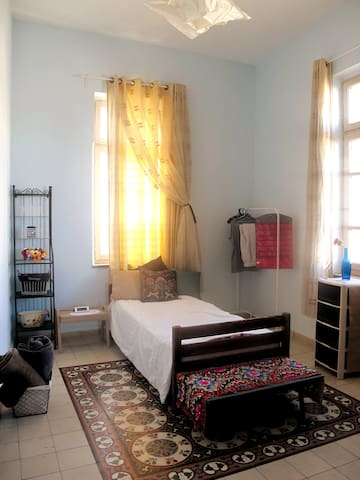 Warm traditional Palestinian home, fully renovated