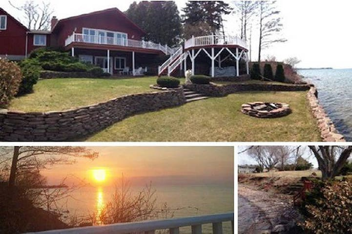 DREAM LAKEHOUSE REATREAT on LAKE ONTARIO NY - Kendall - Dom