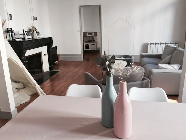 Superbe appartement en plein coeur de Bergerac - Bergerac - Huoneisto