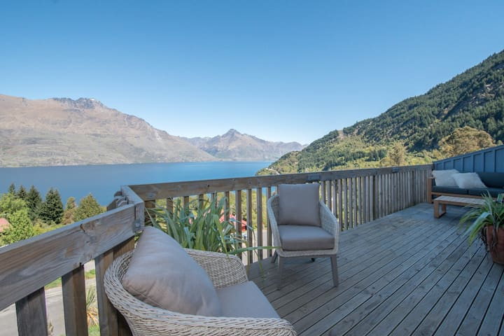 Our deck to Glenorchy