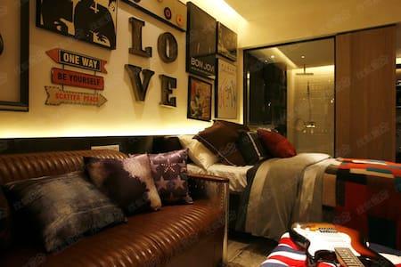 超赞房东Carey「重庆市中心、地铁站、CBD中心、观音桥繁华商业街、」高档小区40平公寓,宜旅游。 - Chongqing