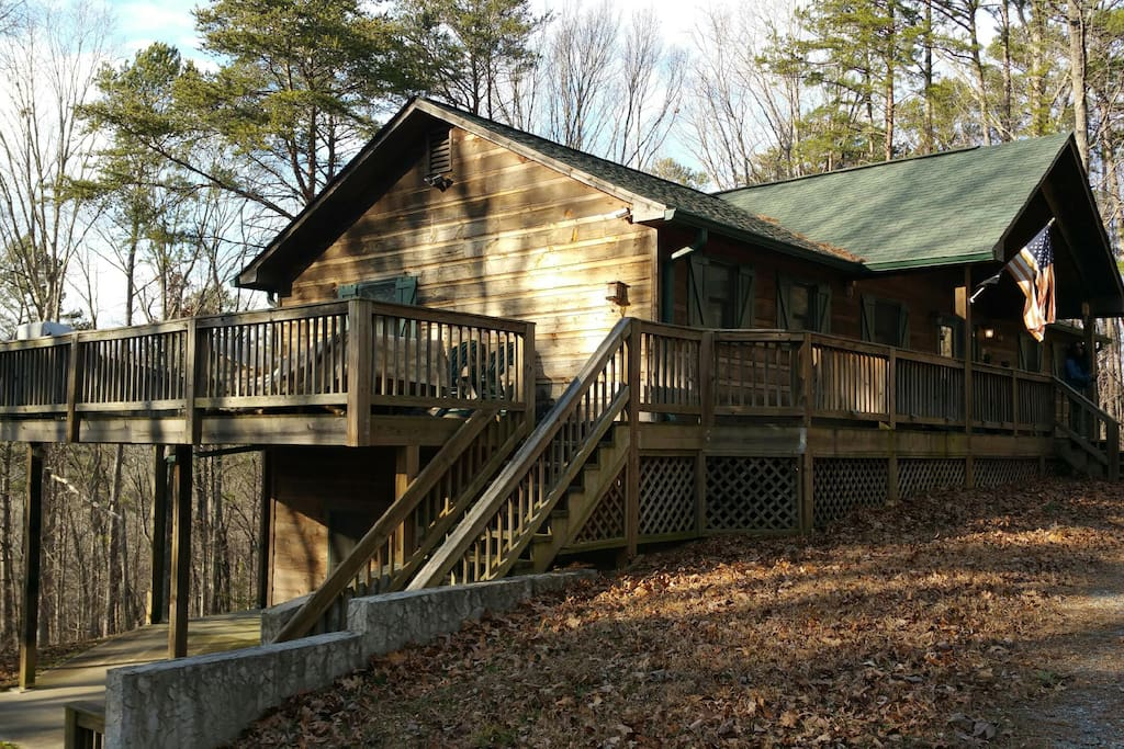 Family Treehouse Cabins For Rent In Talking Rock Georgia United States