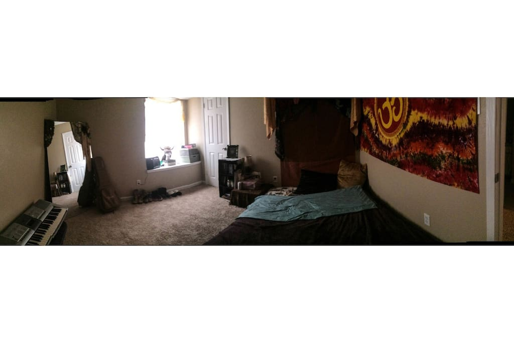 Room Available with large window and sitting ledge