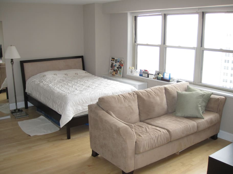 luxury alcove studio apt in tribeca apartments for rent in new york new york united states. Black Bedroom Furniture Sets. Home Design Ideas