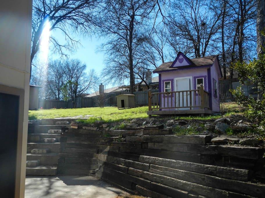 Expansive Backyard in a Quiet Neighborhood
