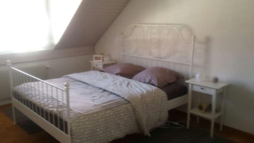 Grande chambre au charme de chalet - Gland