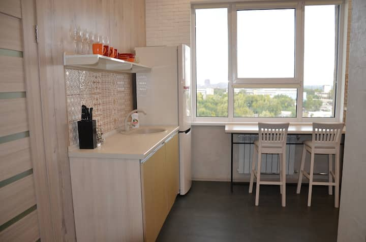 2 BR apartment in new building downtown