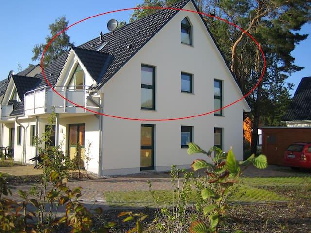 Sonnige Ferienwohnung auf Usedom - Zinnowitz - Apartament