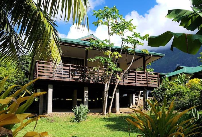 Maison Heipua à Hiva Oa Taaoa
