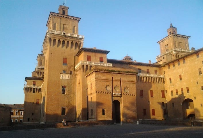 Luxury in the most beautiful palace of Ferrara.