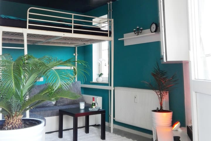 Mini loft, balcony bed and water view deluxe.