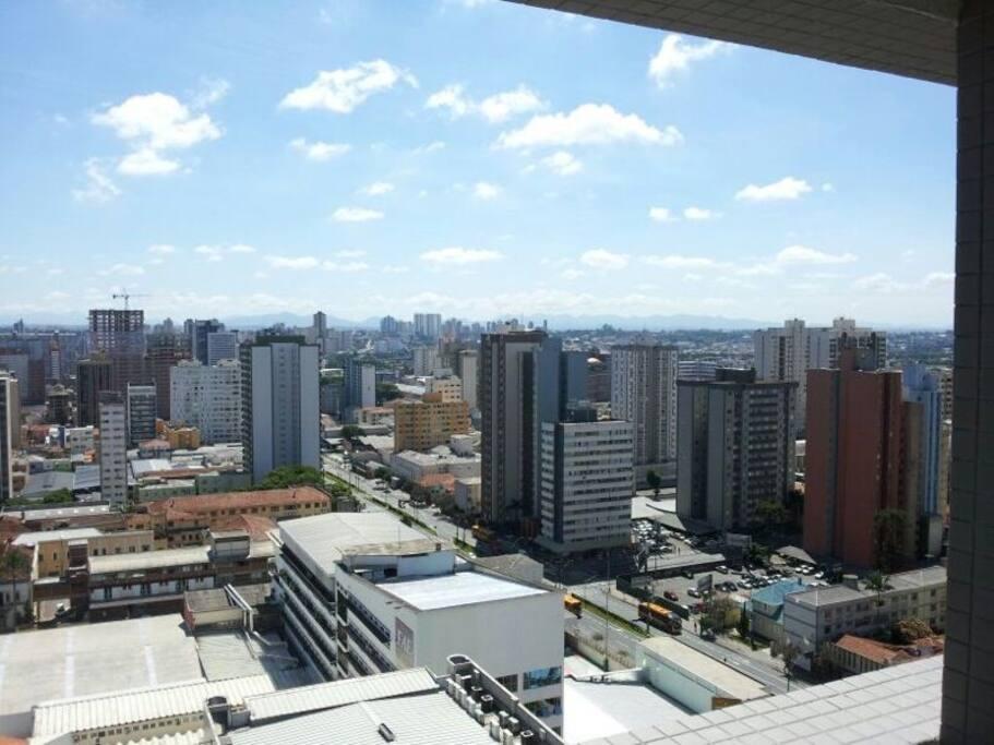 20th floor skyview from Curitiba!