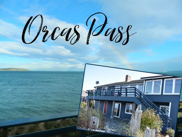 Orcas Pass, Private Beachfront Home