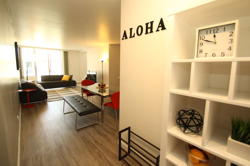 Welcome to our unit! Newly renovated Spacious Rare 2 bed room in the secure building. (Living Space 839 sqft & 125 sqft)