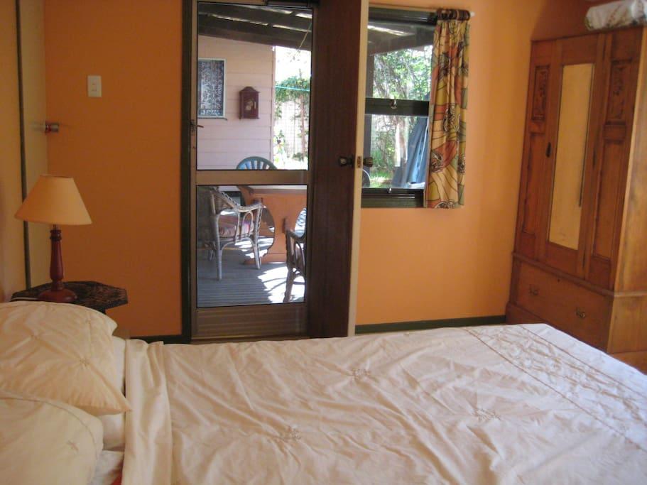 Door to verandah, your private entrance