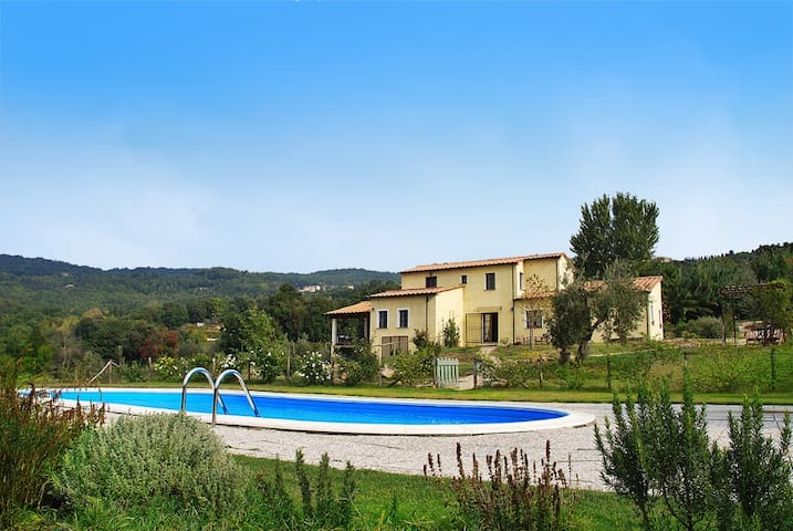 Charme and relax with Tuscany view  - Monteverdi Marittimo - Villa