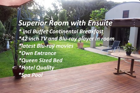 SUPERIOR EN-SUITE  B&B on Heta with Spa - New Plymouth - Wikt i opierunek