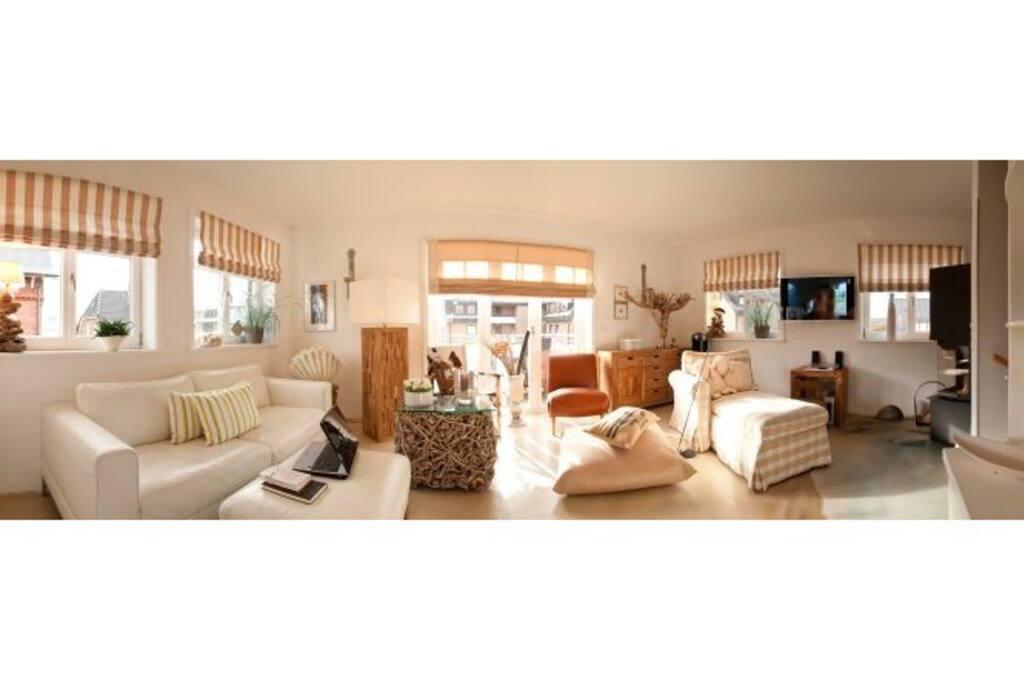 wohnen am meer luxus wohlf hlflair wohnungen zur miete in westerland schleswig holstein. Black Bedroom Furniture Sets. Home Design Ideas