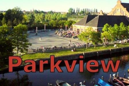 Charmant: canal & parc appartement