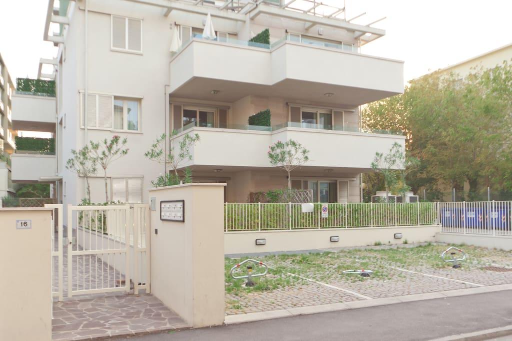 Residence perla del parco riccione appartamenti in for Nuovi piani domestici