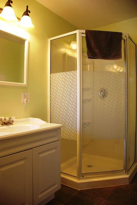 Clean shared bathrooms