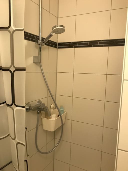 Kernsanierte Dusche