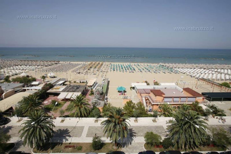Pescara beach view