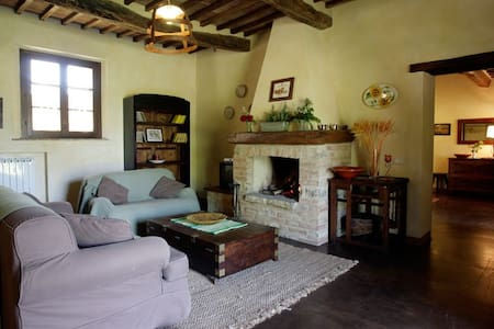 The Fienile, a converted hay-loft, is the latest addition to the Castelrotto hamlet. It is a unique, charming and romantic getaway.