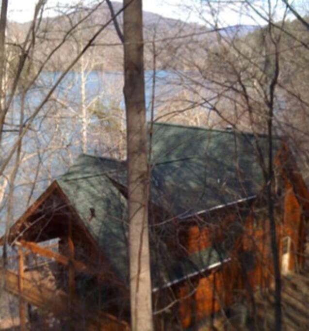 Apalachia Lake Side Cabin