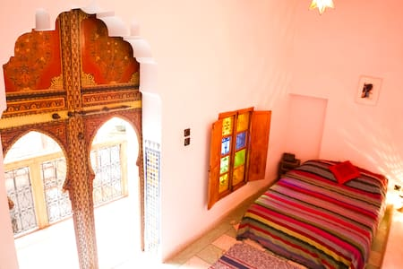 The Red Room, Dar Rbab, Fes Medina - Fes