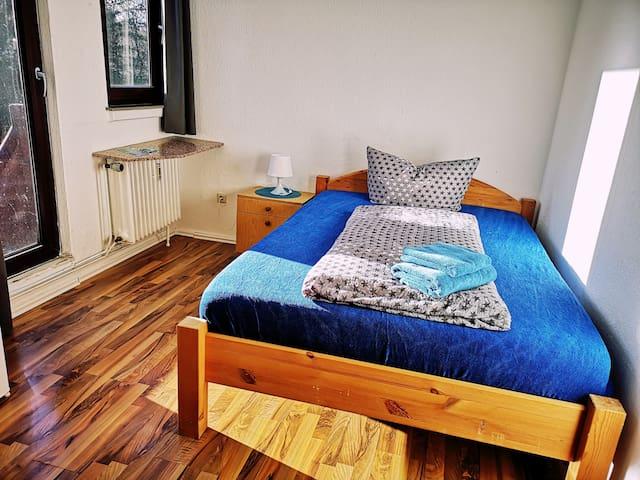 Parkzimmer - Doppelzimmer mit Gartenblick