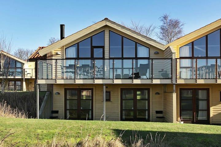 Moderna casa de vacaciones en Egernsund con sauna