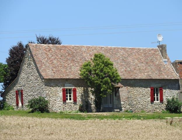 Maison de charme à la campagne court ou long séjou - Villefranche-de-Lonchat - Haus