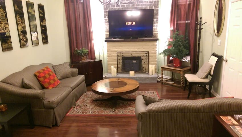 Large 2 bed apt near OTR/Clifton - Cincinnati - Apartemen