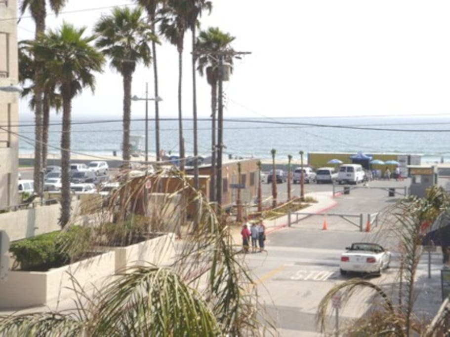 Venice Beach! This is how close you are.