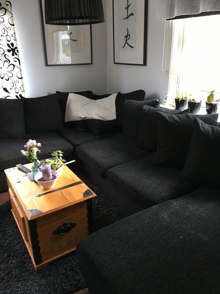 En soffa perfekt för 1 p