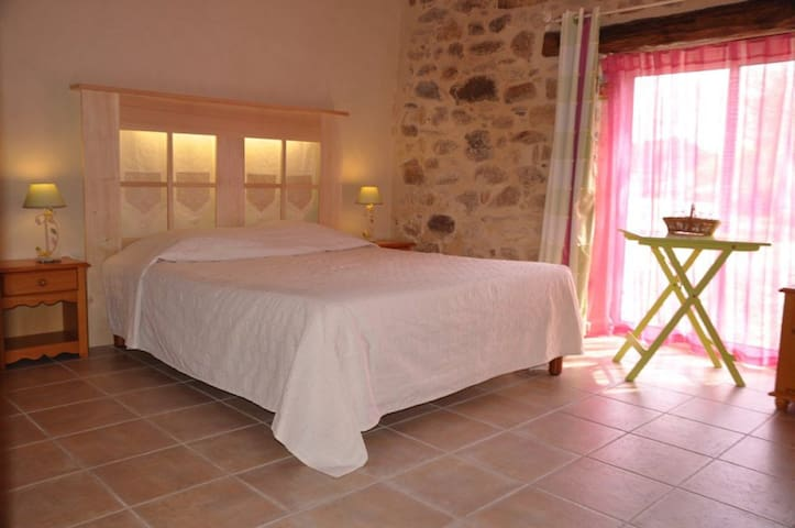 B&B chambre Plaine Ecogîte - Saint-Étienne-du-Bois - Bed & Breakfast