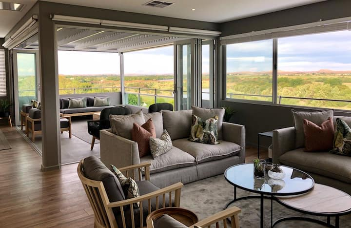 Light & Airy Penthouse with Exceptional Views