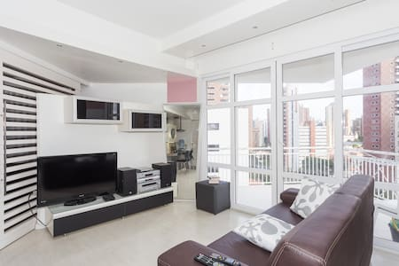 LOFT CHARMOSO A 1 QUADRA DO MAR - 福塔莱萨 - 阁楼