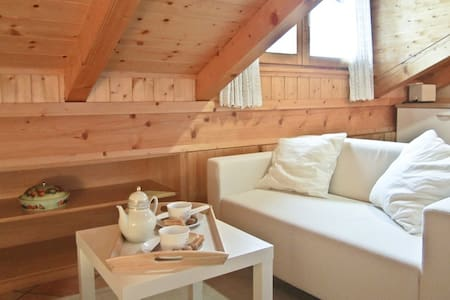Cozy attic with Dolomites view - Sant'antonio di Mavignola