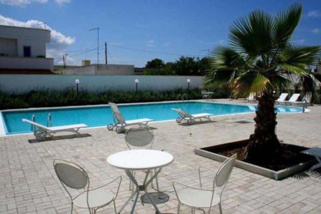 Residence con piscina apulia mare appartamenti in - Appartamenti santa maria al bagno ...