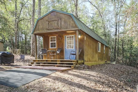 Private Cozy Cabin with Loft in Georgia Woods