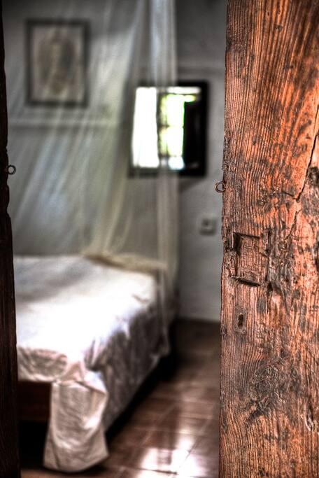 Eines der romantischen Schlafzimmer